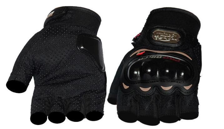 custommade OEMODM hand protected half finger bicycle motorcycle Motorbike Safety racing sport gloves manufacturer