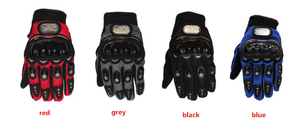 Fashion Safety Motorcycle Riding Racing Full Finger Gloves