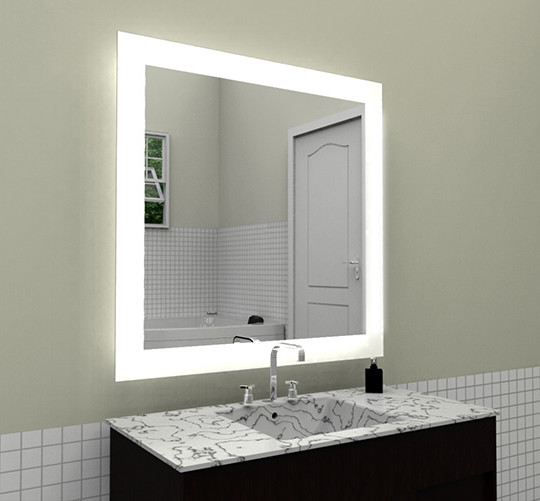 58w 3000k 6500k for options ul ce wall mounted hotel bathroom led backlit mirror purchasing. Black Bedroom Furniture Sets. Home Design Ideas