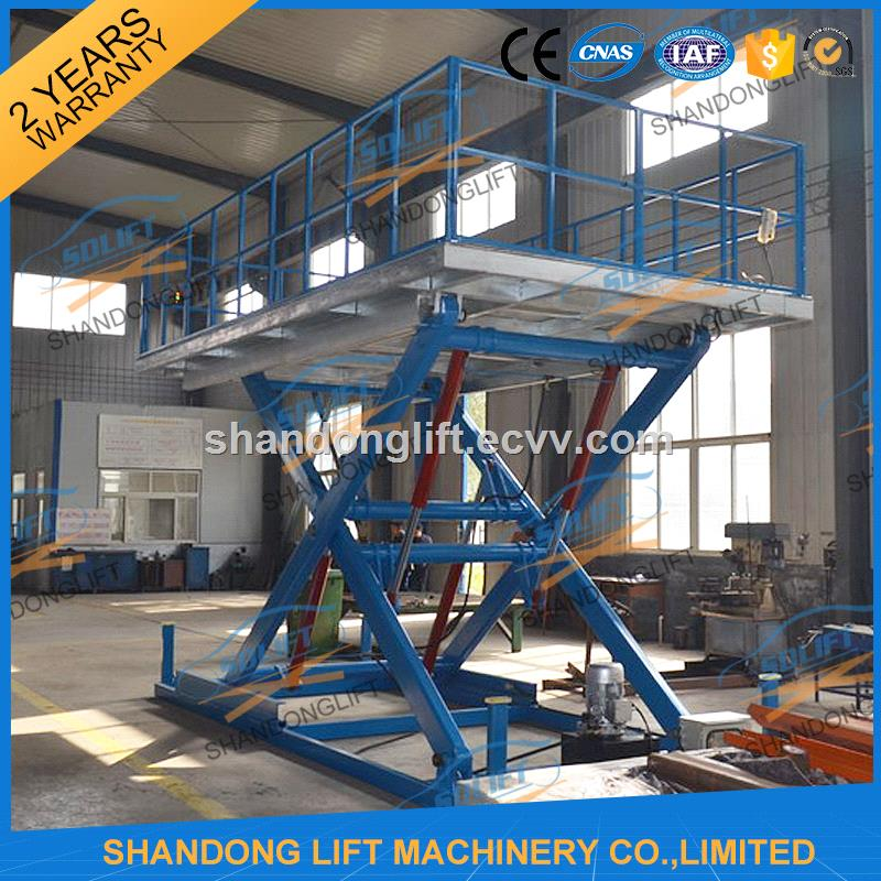 Scissor type hydraulic car lift for home garage purchasing Hydraulic car lift home garage