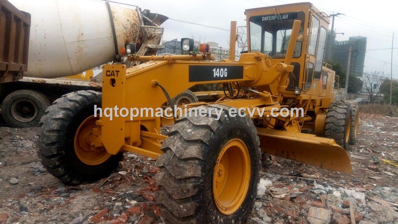 Used cat 140g motor graders secondhand japanese motor for Used motor graders for sale