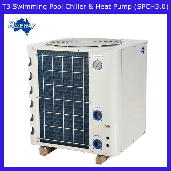 T3 Swimming Pool Heat Pump For Outdoor Pool Heating