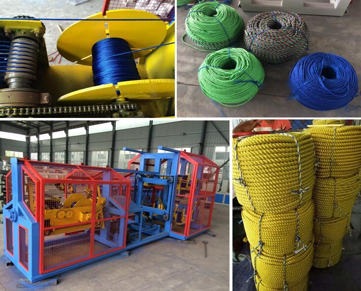 Plastic Pet Rope Filament Machine Monofilament Extruder