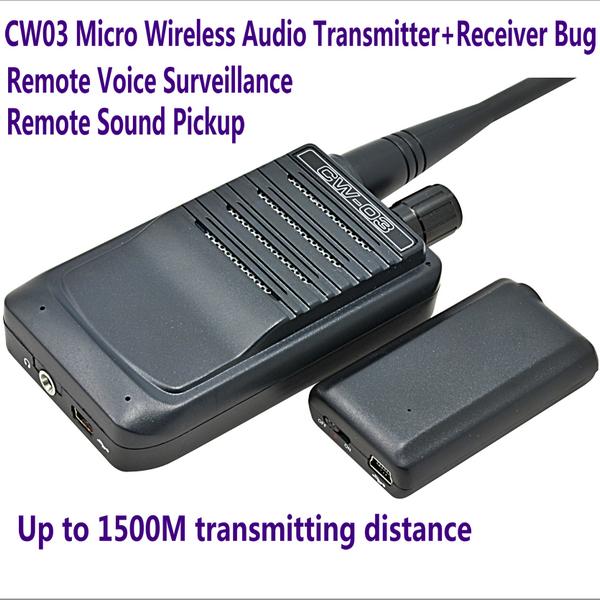 Car tracker jammer , Portable Wireless Bug Camera Audio Jammer