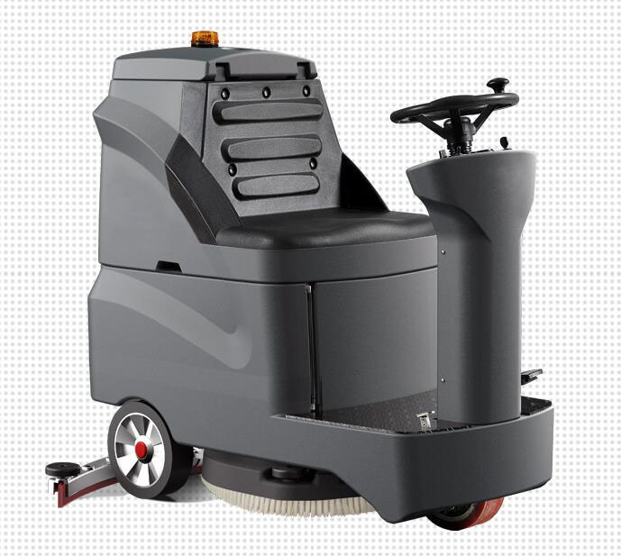 Small Flexible Ride On Scrubbers Automatic Floor Cleaning