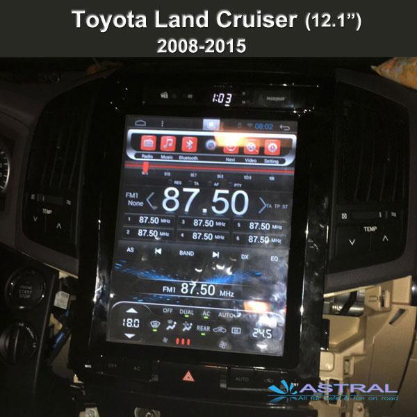 Tesla Screen 12 1 Inch Toyota Navigation Gps Factory 2 Din
