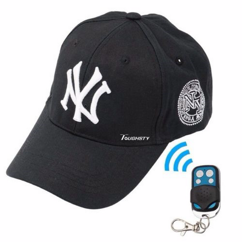 1080p 8gb Hat Hidden Camera Remote Control Spy Cap Covert