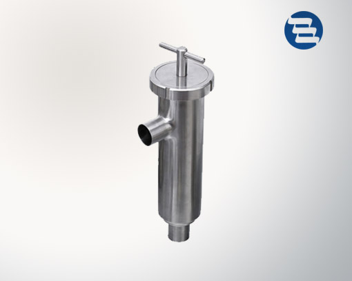 Sanitary Filter Stainless Steel Welded Angle Type Strainer
