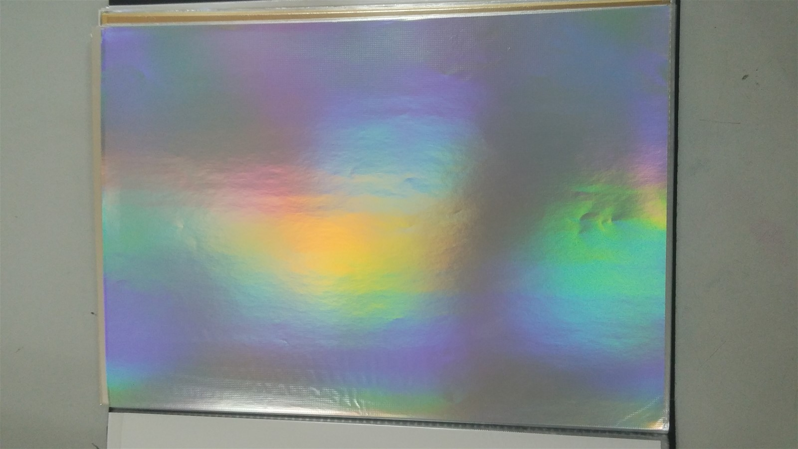 85g Transfer Laser Silver Paper From China Manufacturer