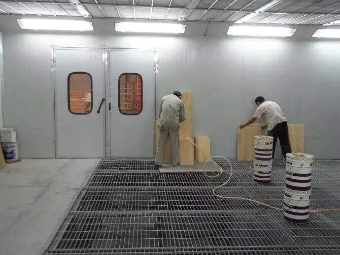 China Infrared Furniture Paint Spraying Roomdrying room For Sale CE Approved