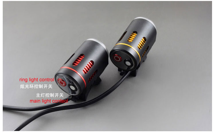 Unique Design Aluminum Alloy High Bright XML2 Led Bike Light Bicycle Light