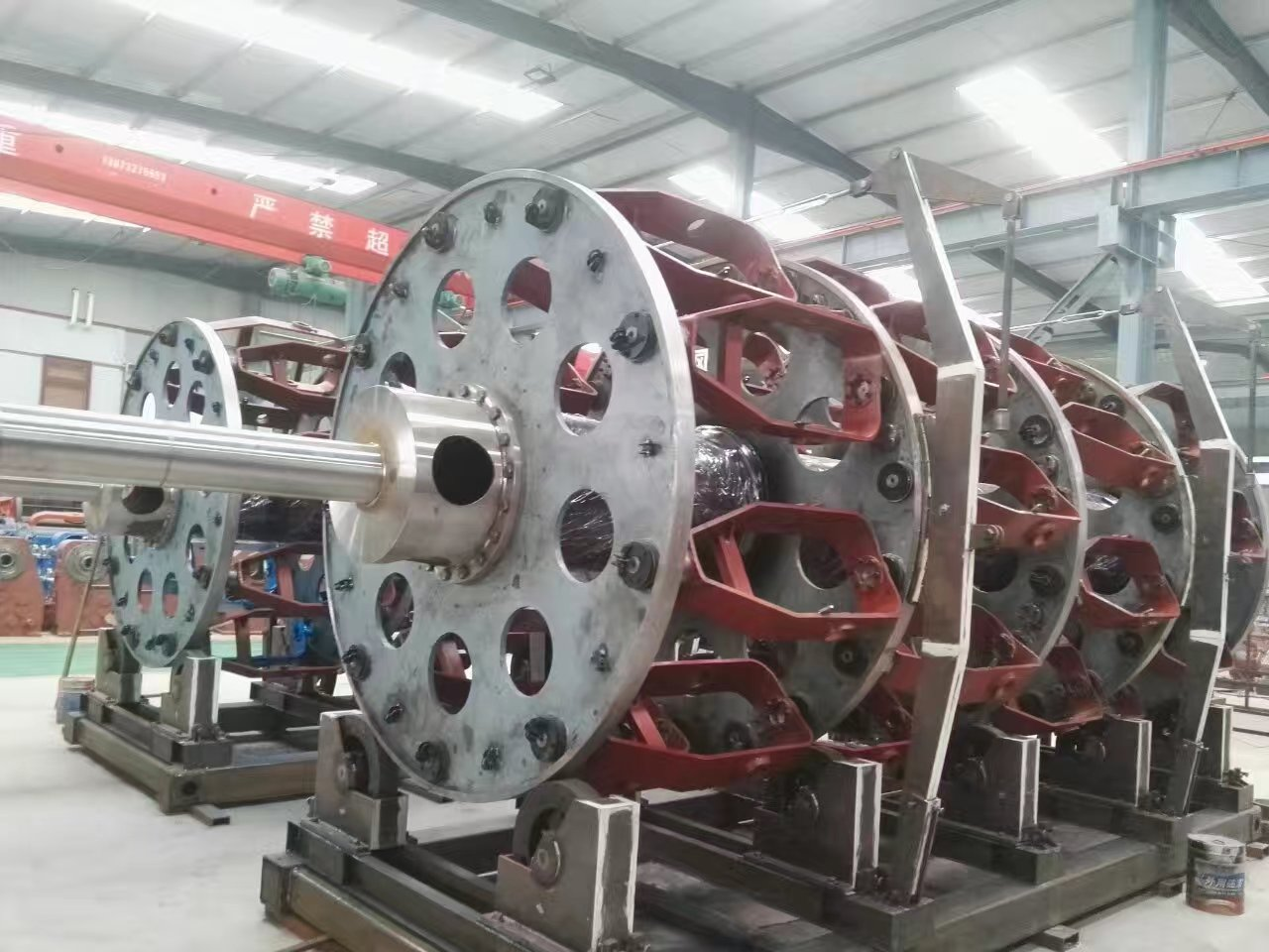 PlanetaryCage Type Strander Steel Wire Armouring Machines JLY400500630