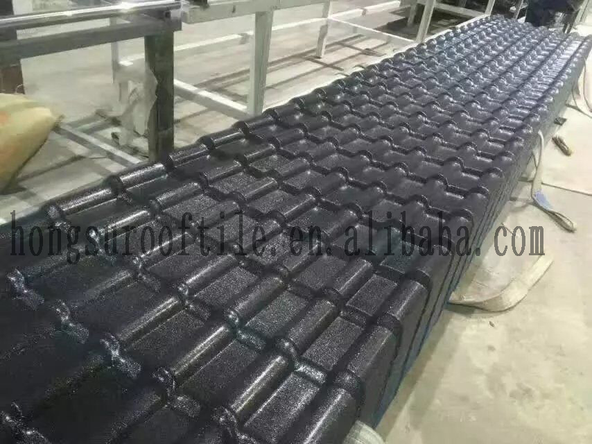 Synthetic Resin Roofing Sheet Asa Spanish Roofing Tile