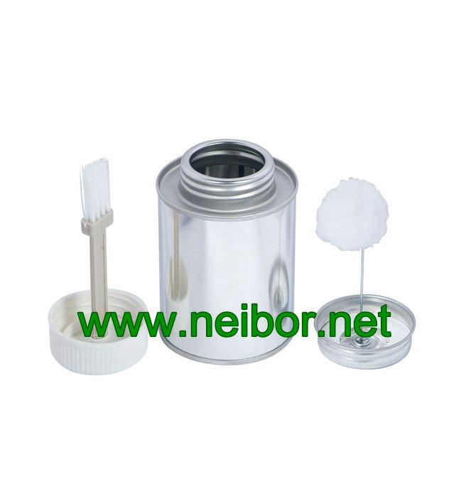 Chemical Industry Use Brush In Can Pvc Glue Can Metal Tin