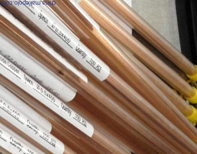 Small Copper Tubing Sizes: Electrode Copper Tube For Small-Hole Edm Drilling Machine