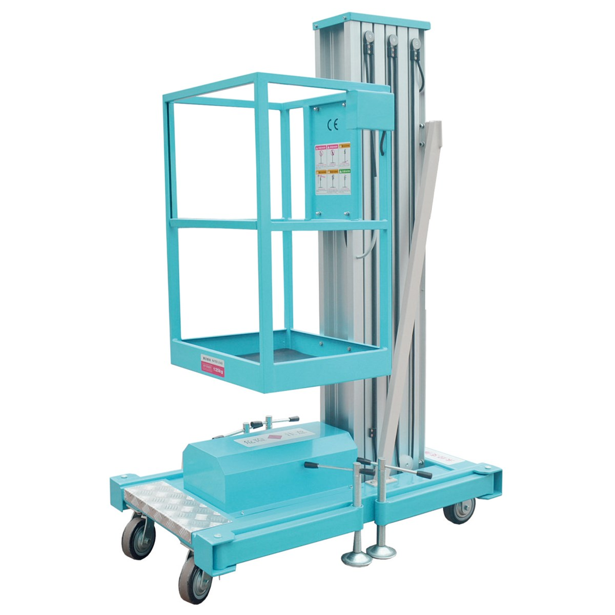 Mobile Hydraulic Lifts : M height insulating mobile hydraulic lift for warehouse