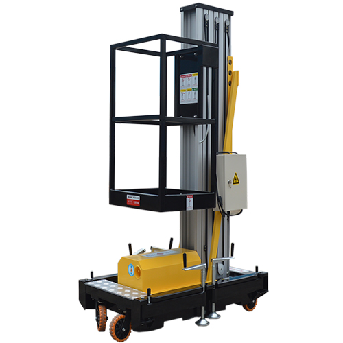 Hydraulic Material Lift : Gtwy m platform height mobile hydraulic material