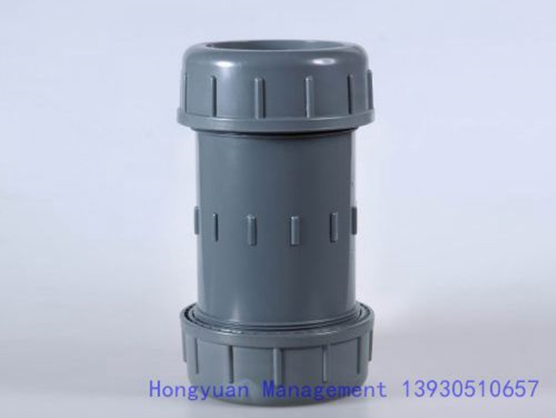 Plastic pvc expansion joint pipe fitting purchasing