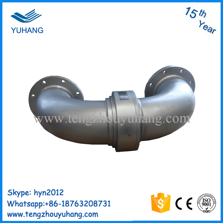 Stainless steel high pressure water swivel joint elbow