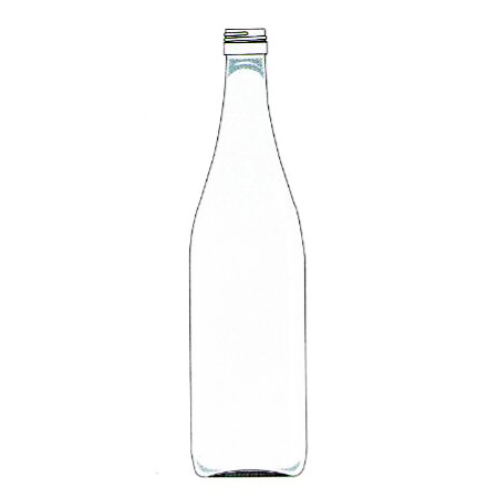 glass liquor bottle mineral water glass bottle spring