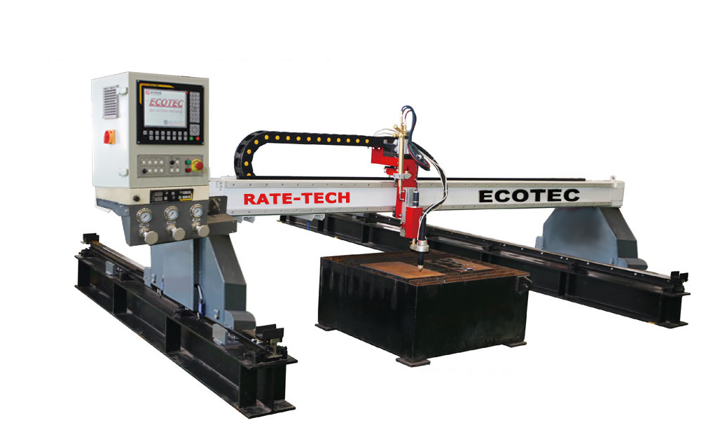 TopTech Economical Strengthen Gantry CNC Cutting Machines