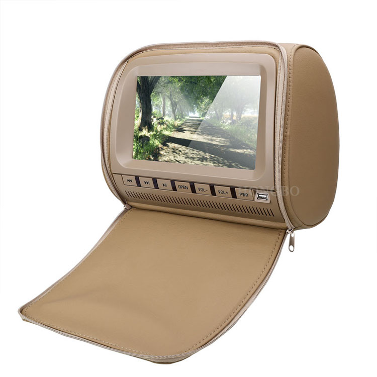 9 Inch TFT LCD Headrest DVD Player