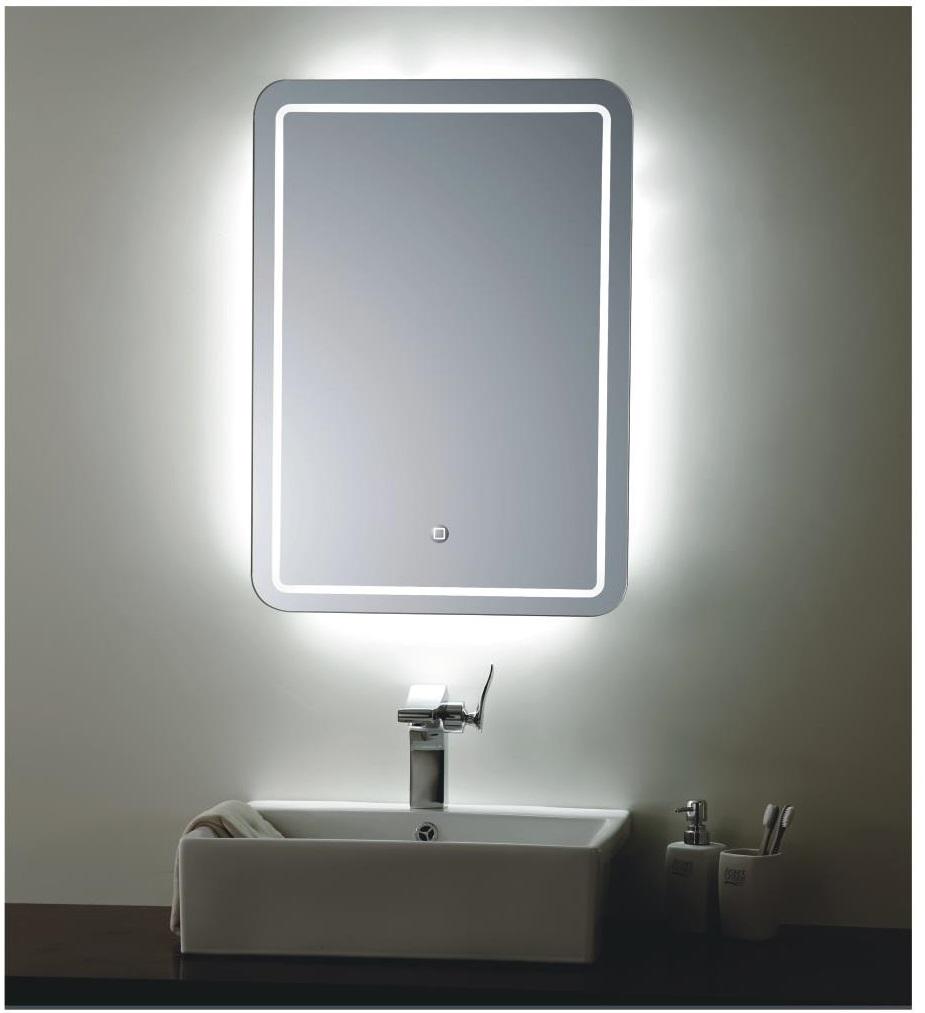 modern illuminated led bathroom mirror lighting. Bathroom Mirror With Lights  Minnesota Illuminated Bathroom