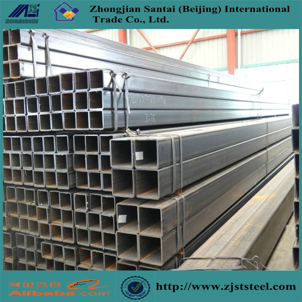 Construction Structure Factory Black Carbon Square Tubes & Steel