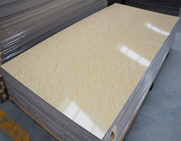 Pvc Uv Marble Solid Panel Wall Cladding Sheet From China
