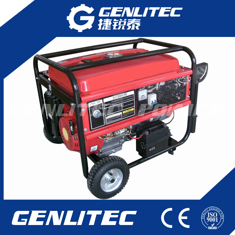 1kw to 8kw Portable Gasoline Generator with 100% Copper Wire Alternator