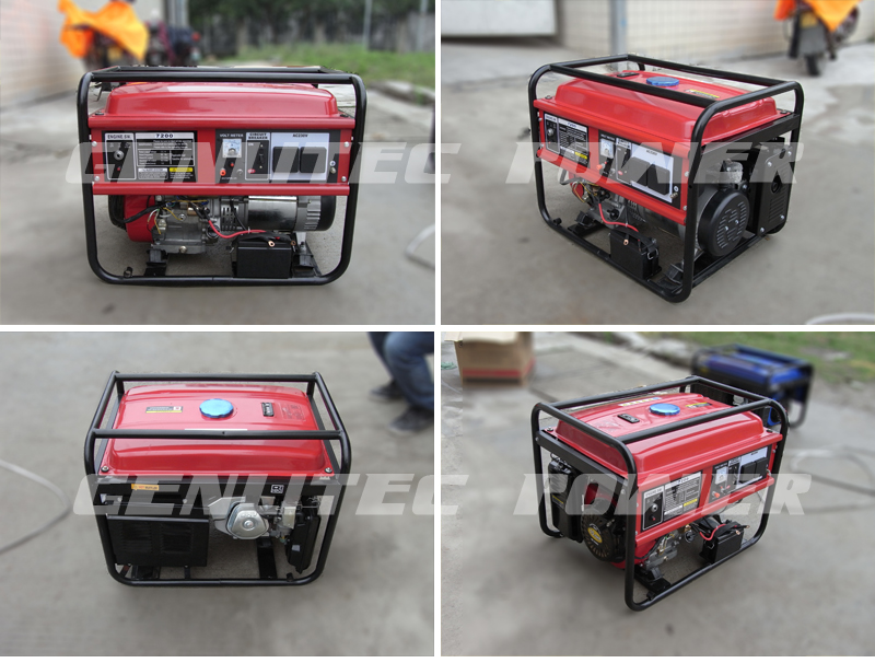 1kw to 8kw Portable Gasoline Generator with 100 Copper Wire Alternator