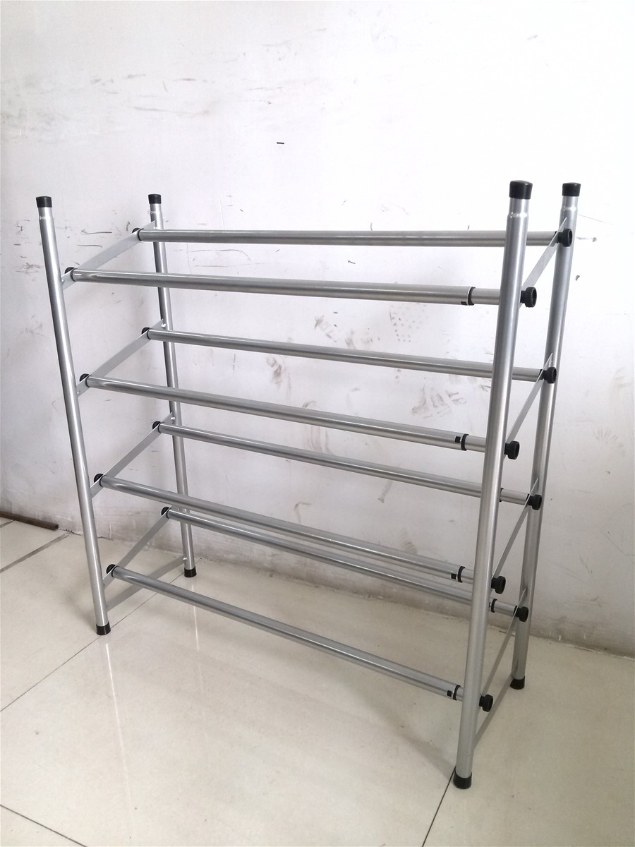two tiers shoes rack