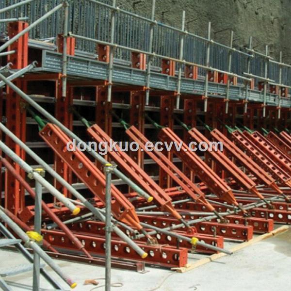 Scaffolding Steel Suppliers : Steel waler in shoring scaffolding system purchasing