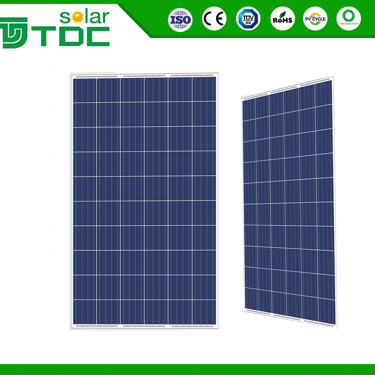 Poly 250W Solar Panels Solar Power System Home Solar Panels Bicycle