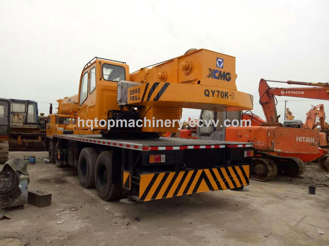 XCMG QY70K Crane Specifications/Load Charts