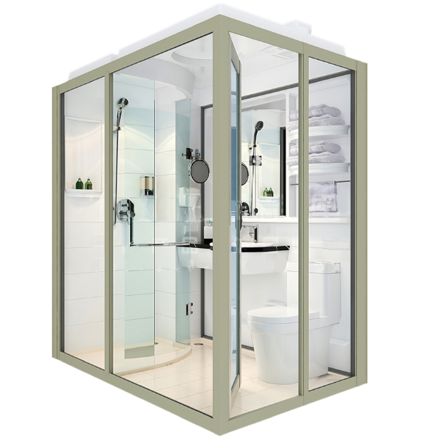 Shenzhen Supplier Showay Pre Fab Bathroom, Pre Built Bathroom