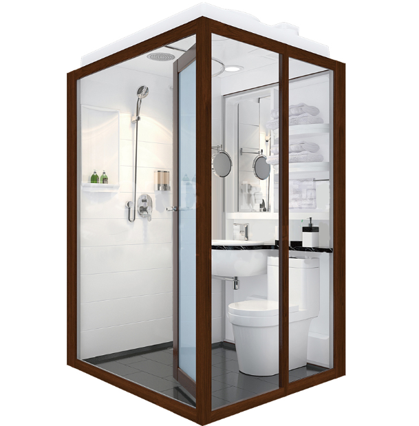 Environment friendly durable whole produce prefabricated Prefabricated bathroom pods suppliers
