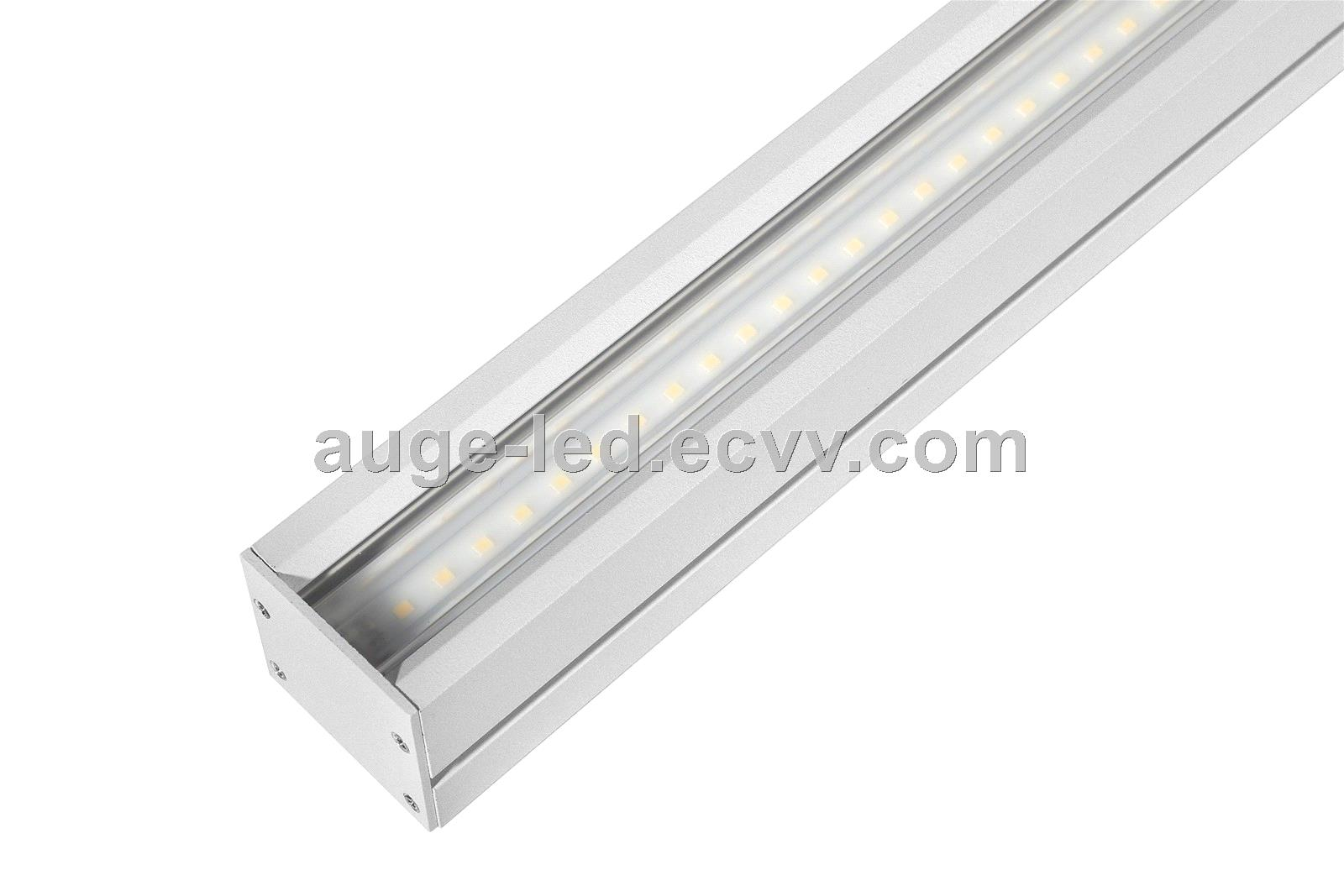 1.5m Linear Light 40W 60W for Office/Commercial, 5ft Linear Light with Optical Lens Design, Linkable Line System IP20