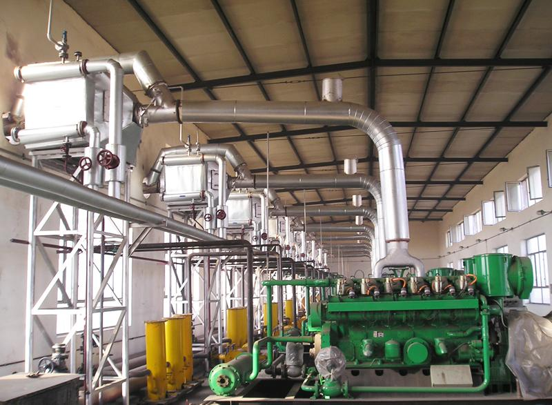 Natural Gas Generator Set Flue Gas Waste Heat Recovery Boiler Unit