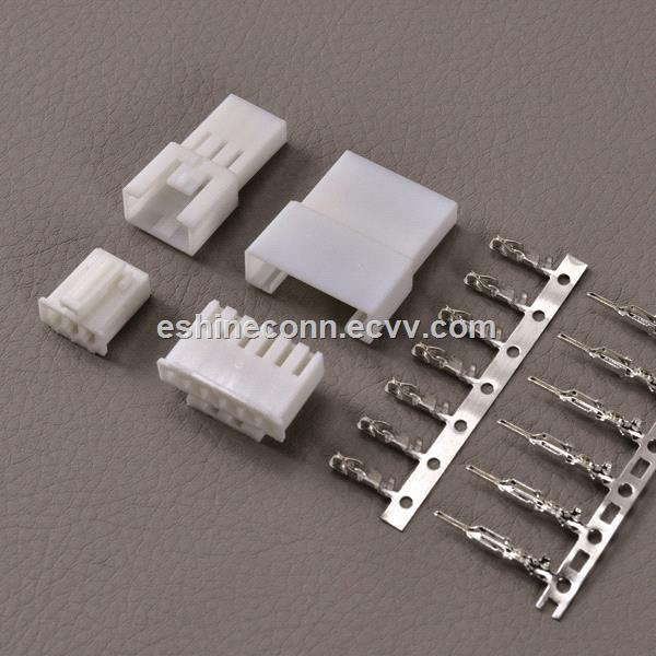 6Pins Male Recetacle Female Plug Wire to Wire Connector To BT Alarm Button, HF