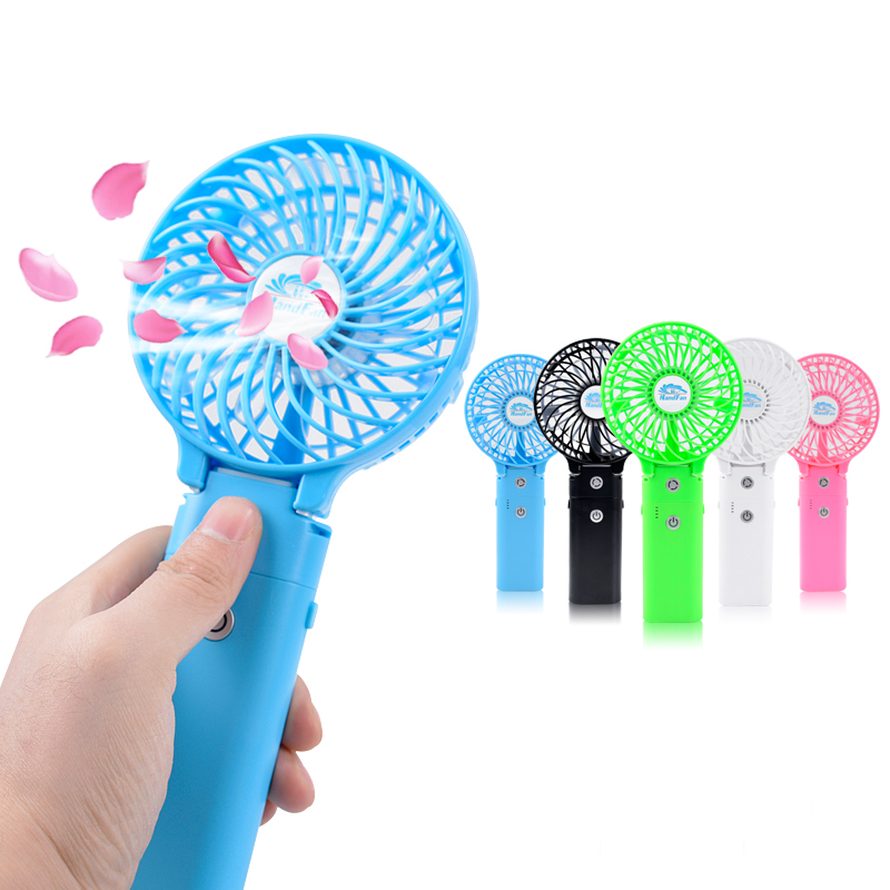 HF310 Mini Portable Handy Power Bank USB Fan for Home & Travel
