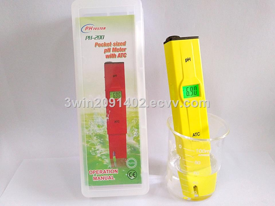 High Accuracy Waterproof PH Meter