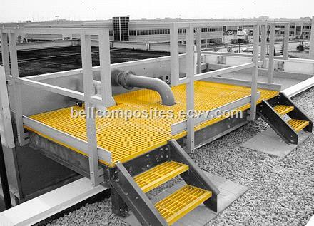 Fiberglass Handrail Frp Grp Railing Stair System Pipe