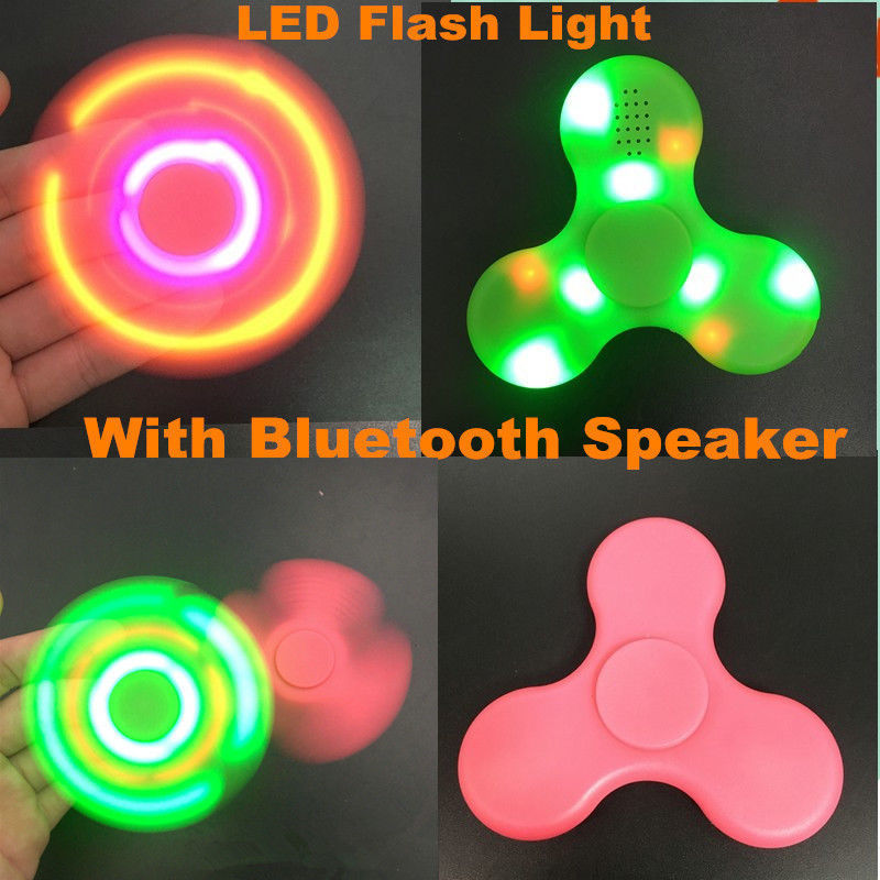Fidget Spinner with Bluetooth Speakers