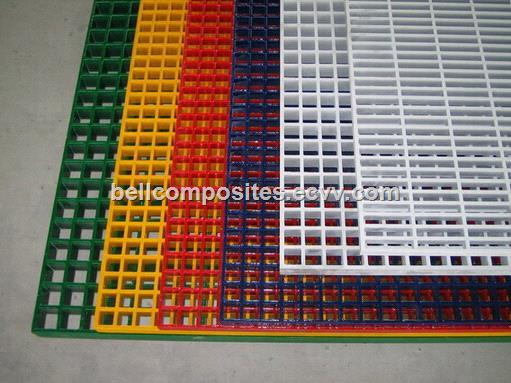 Fiberglass Walk Boards : Frp grp fiberglass grating composite panel anti slip