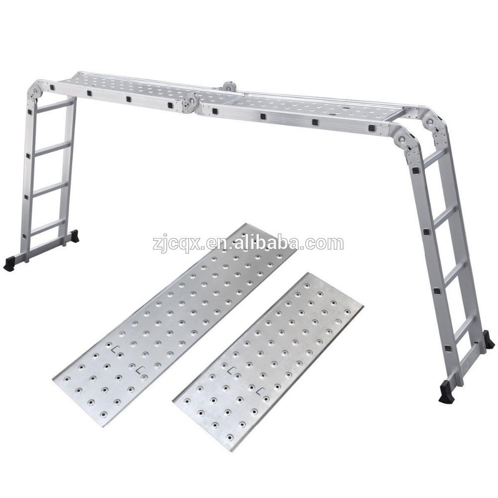 Multi Purpose Aluminum Ladder : Step multi purpose aluminum extension ladder