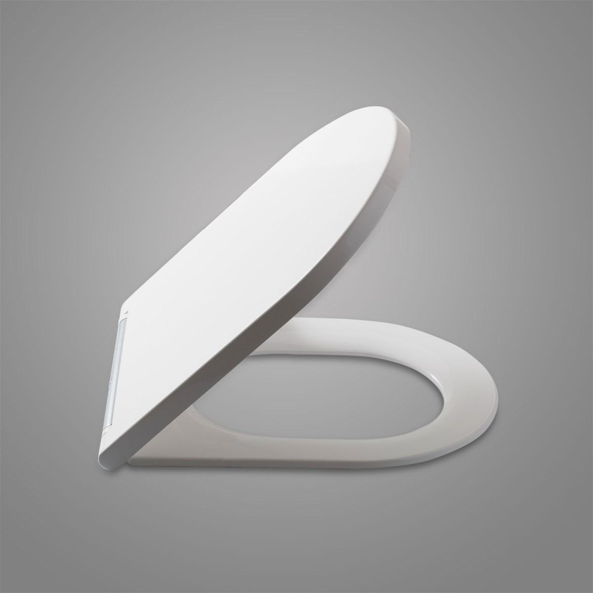 European Standard Ceramic White Toilet Seat Cover China TOILET SEAT SLIM TO