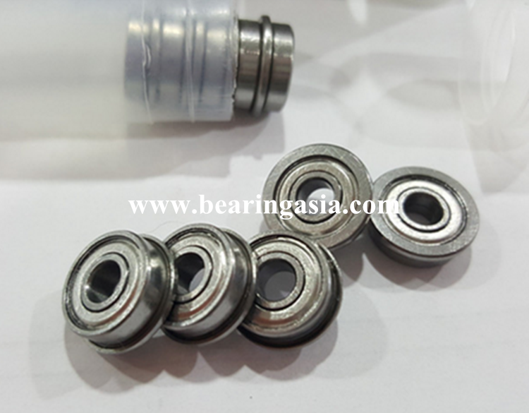 High precision 4114 mm deep groove ball bearing F694