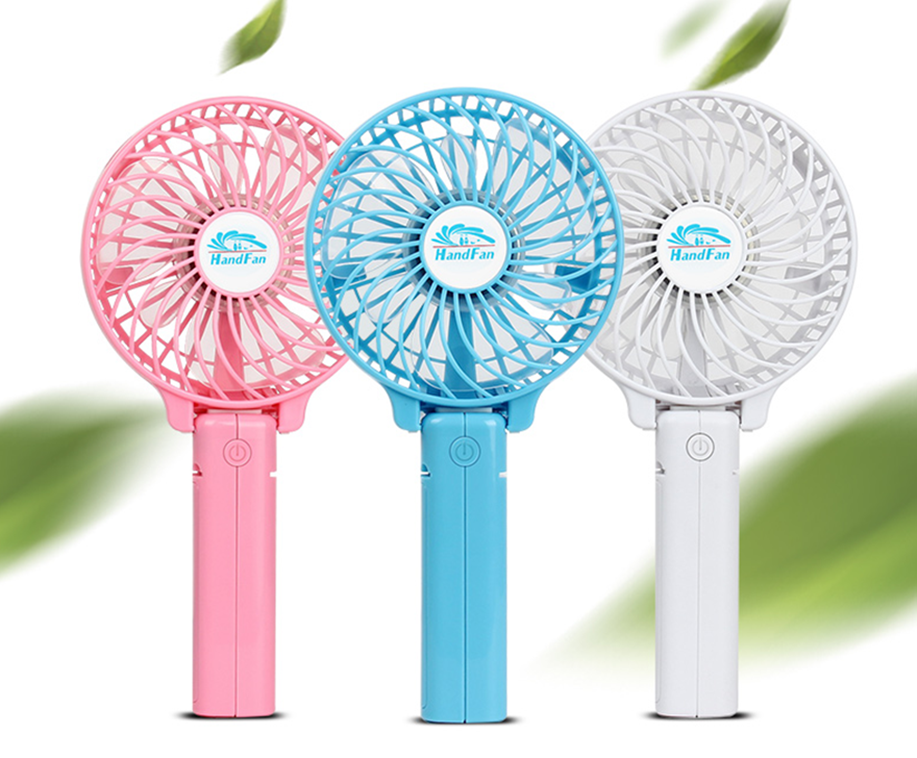 USB Cooling Battery Mini Electric Hand Held Folding Fans for Wholesale