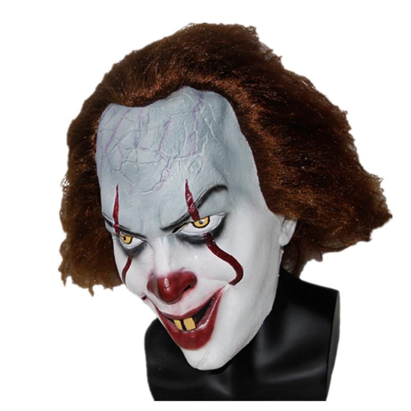 XMERRY TOY 2017 Movie Stephen Kings It Mask Pennywise Horror Clown Joker Mask Handmade X14080